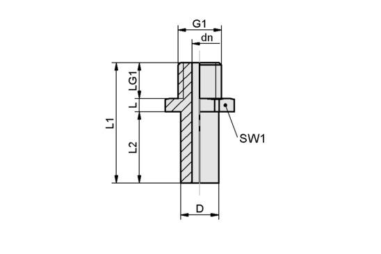 SA-NIP N001 M3-AG DN40