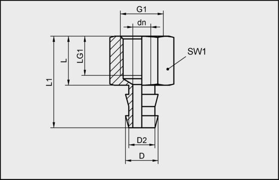 SA-NIP N031 G1/4-IG DN550