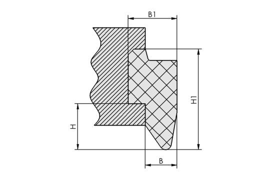 DI-PROF 5.5x8 2K-MOS CR-20/60