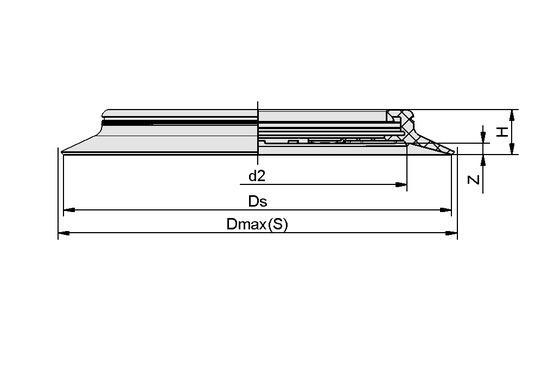 DR-SPU 250 NBR-55 B
