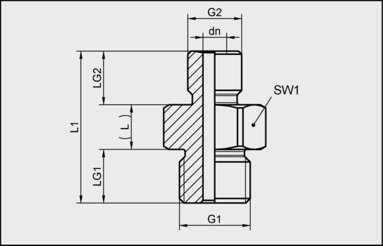 RED-NIP-S G1/4-AG M10x1.25-AG AL