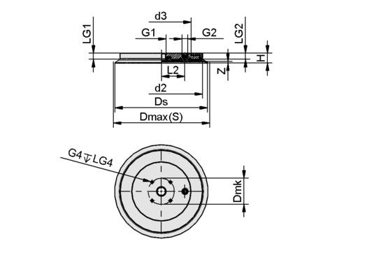 SGF 200 EPDM-55 G1/2-IG
