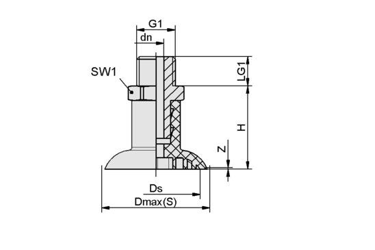 SGPN 35 SI-50 G1/4-AG