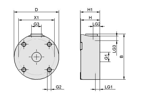 SBS 120 HF G1/8-IG