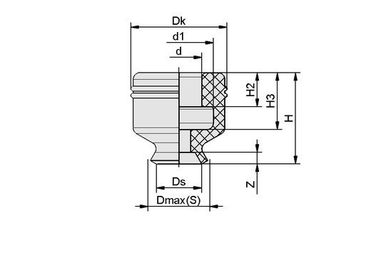 PFG 8 NBR-ESD-55 N004