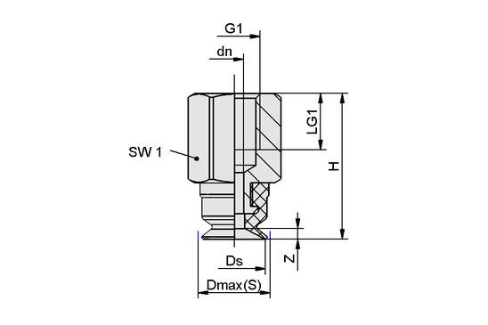 SUF 8 NBR-55 M5-IG