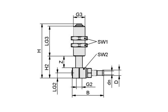 FSTIm M3-IG 4/2.5 L 5 IN