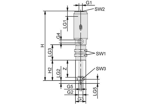 FST-LOCK-HD G1/4-AG 100 NC AB