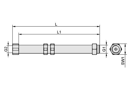 SAUG-ANB G1/4-AG 140