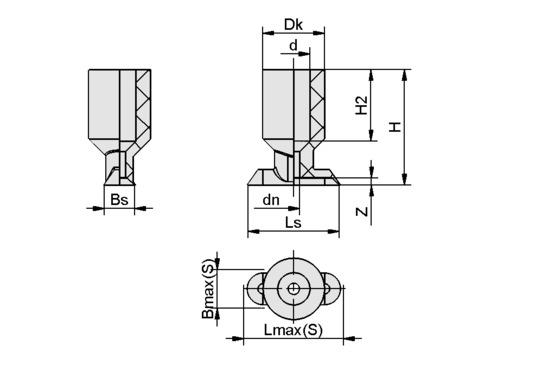 SGON 30x10 NBR-60 G1/8-IG