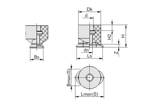 SGO 7x3.5 NBR-AS-60 N003