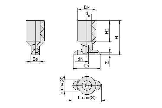 SGO 15x5 NBR-AS-60 N021