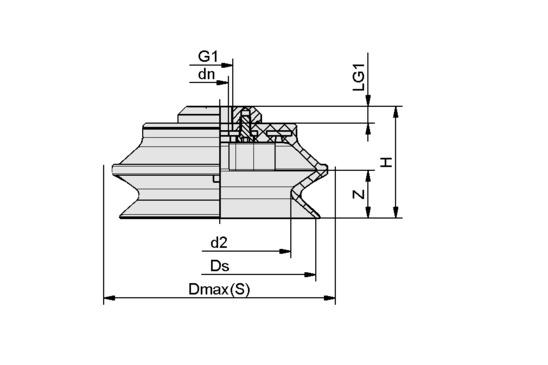 FSGA 150 NBR-70 G1/2-IG