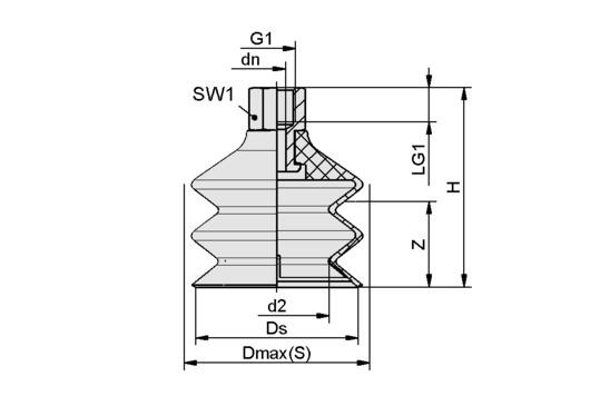 FSG 60 VU1-72 G1/4-IG