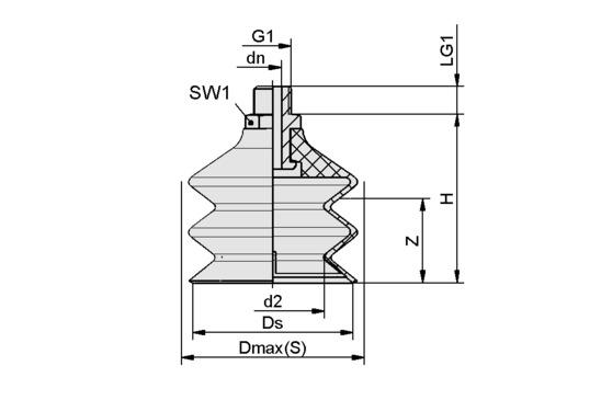 FSG 60 VU1-72 G1/4-AG