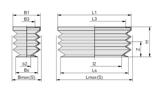 FGB-R 80x50 SI-50