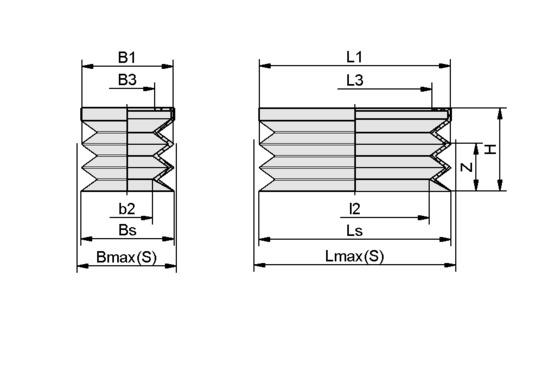 FGB-R 52x25 NBR-50