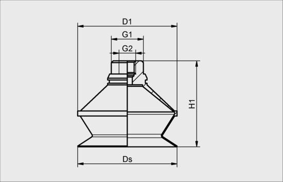 FSGA-B20 SI-50 G1/8-AG / M5-IG