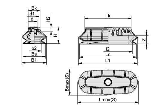 SPOB1 100x40 ED-65 SC050-AR