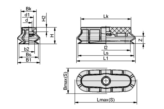 SPOB1 60x20 ED-65 SC040-AR
