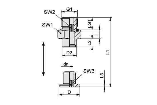 SC 050-AR G1/4-AG