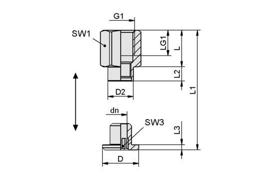 SC 050-AR G1/4-IG