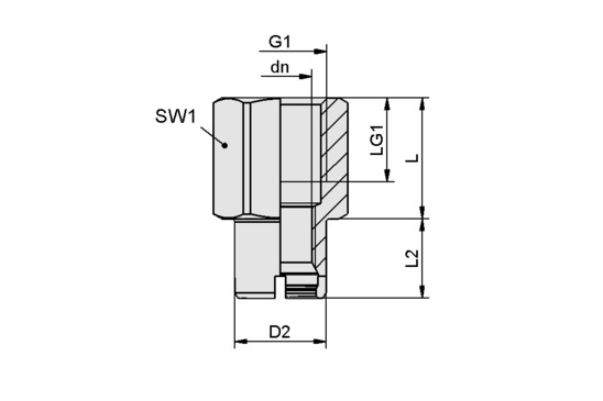 SC-A 055 G3/8-IG L