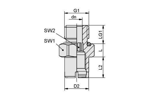 SC-A 055 M14x1.5-AG L