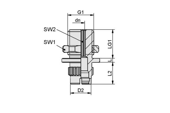 SC-A 055-AR M14x1.5-AG L