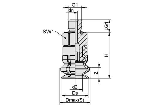 SPB1 10 ED-65 M5-AG