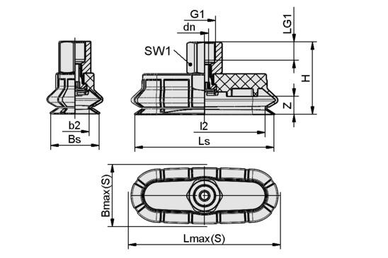 SPOB1 60x20 ED-65 G1/8-IG