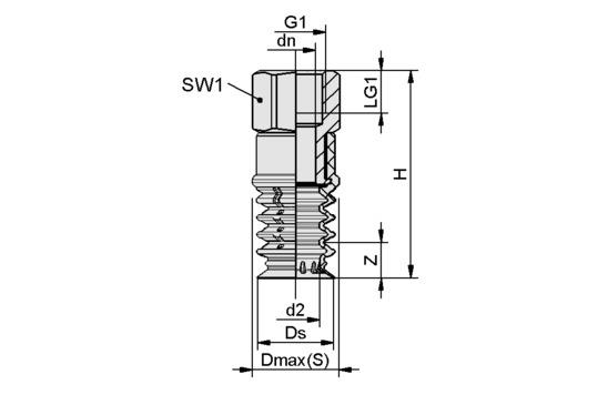 SPB4 20 SI-55 G3/8-IG