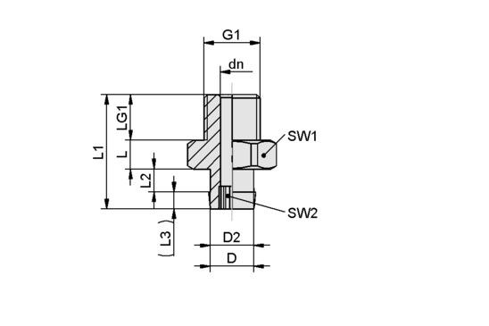 SA-NIP N056 G1/8-AG DN400
