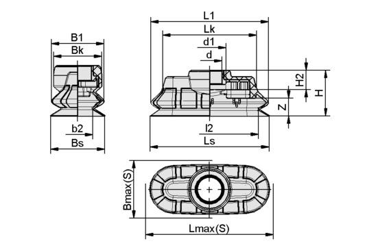 SPOB1f 80x35 SI-55 SC050-AR