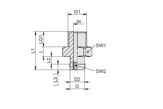 SA-NIP N016 G1/8-AG DN310