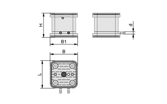 VCBL-G-K2 120x120x100 ST