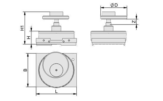 VCMC-K1 154x128x50 12-80
