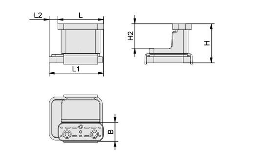 VCBL-K2 120x50x100 L