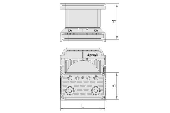 VCBL-K2 125x75x100 D-360