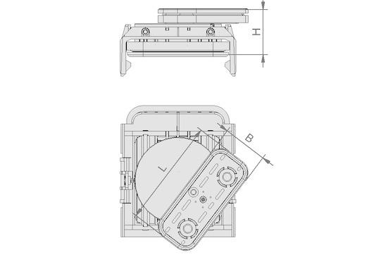 VCBL-K1 120x50x85 D-360