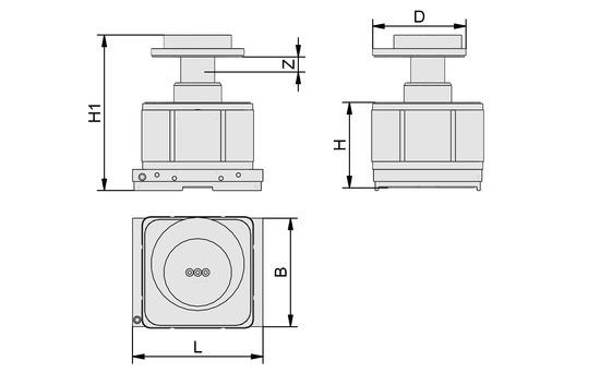 VCMC-K2 154x128x100 10-100