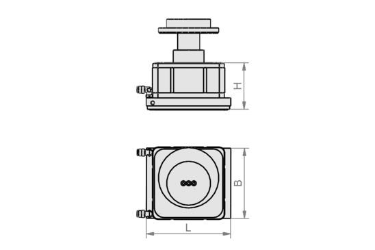 VCMC-G 154x128x85 25-100