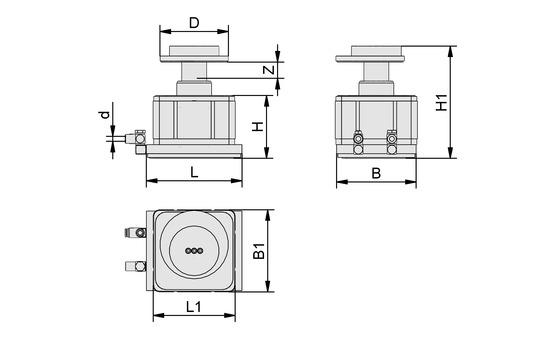 VCMC-G 154x128x100 10-100