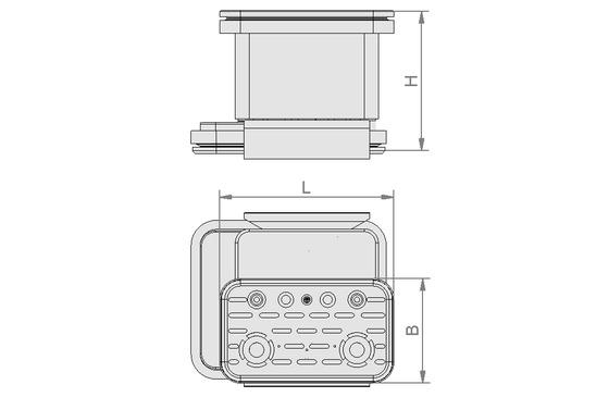 VCBL-K2 120x50x125 L