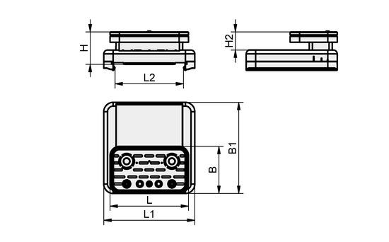 VCBL-S4 125x75x50 TV
