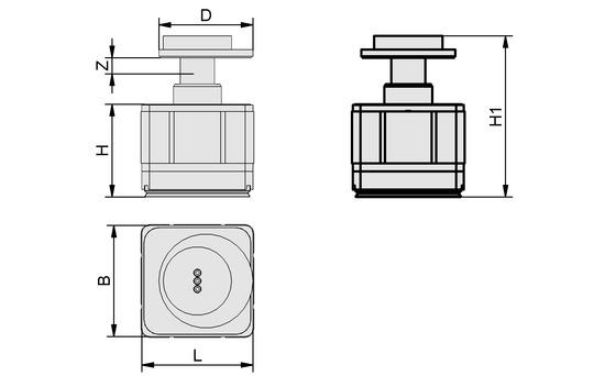 VCMC-R 130x130x100 10-100 30/40