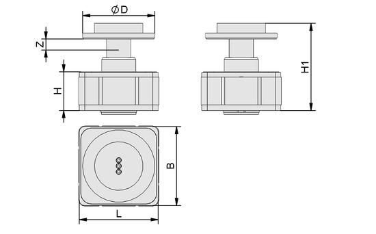 VCMC-B 130x130x74 25-100
