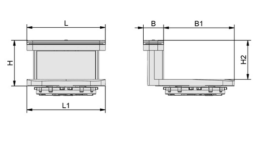 VCBL-B 130x30x74 TV
