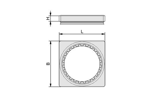 AP-R-130x130x16-30/40