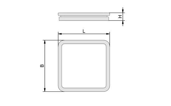 ISDR 150x150x13.5 R 30/50